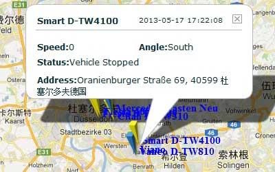 GPS Tracker in Germany