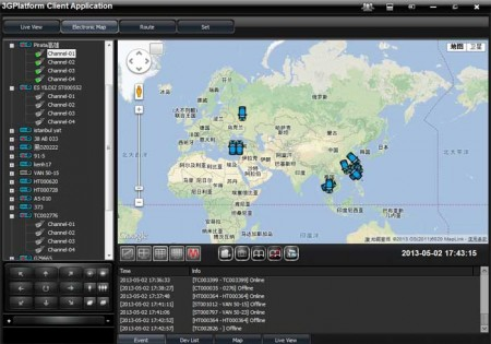 Real-time-location-tracking