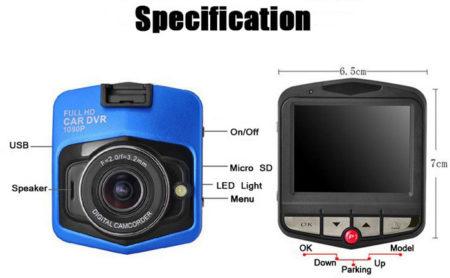 dash camera gt300