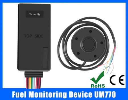 vehicle fuel monitoring device