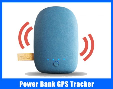 power bank gps tracker