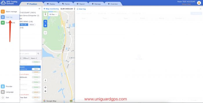 gps tracking software